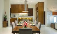 Kitchen and Dining Area - Villa Shinta Dewi Ubud - Ubud, Bali