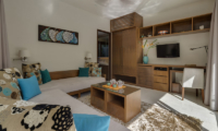 Lounge Area with TV - Villa Shinta Dewi Ubud - Ubud, Bali