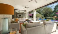Living Area with Pool View - Villa Shinta Dewi Ubud - Ubud, Bali