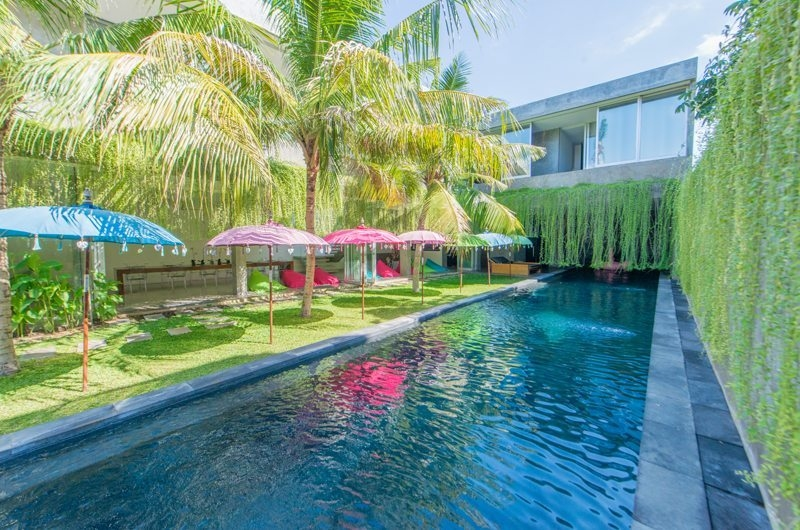 Pool Side Loungers - Villa Simpatico - Seminyak, Bali