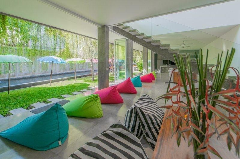 Pool Side Seating Area - Villa Simpatico - Seminyak, Bali