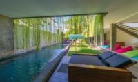 Pool Side - Villa Simpatico - Seminyak, Bali
