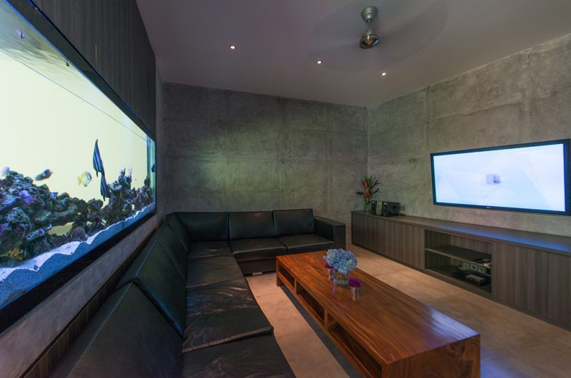 Lounge Area with TV - Villa Simpatico - Seminyak, Bali