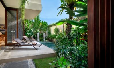 Pool Side Loungers - Villa Sophia Legian - Legian, Bali