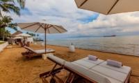 Reclining Sun Loungers with Sea View - Villa Stella - Candidasa, Bali