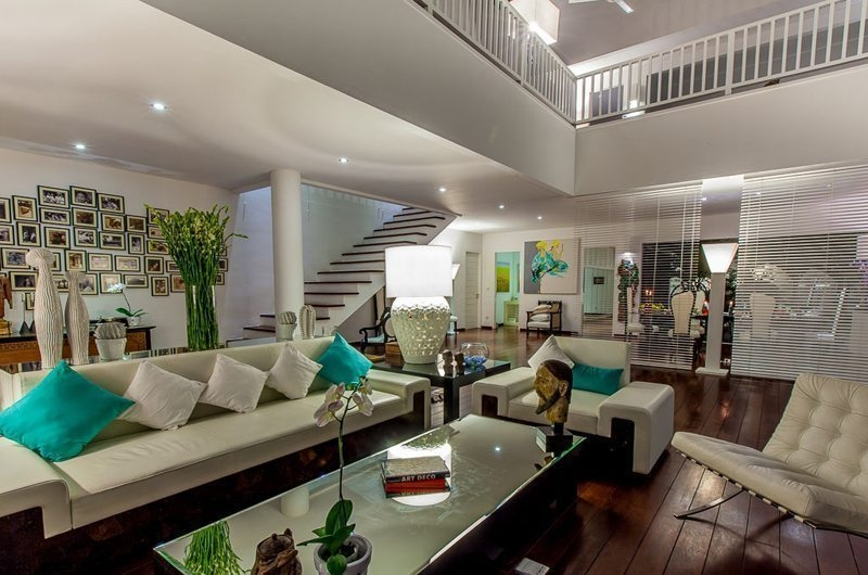 Living Area with Up Stairs - Villa Stella - Candidasa, Bali