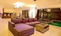 Living and Dining Area - Villa Sundari - Seminyak, Bali