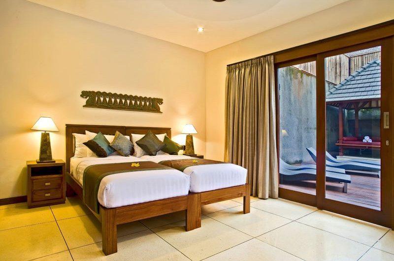 Twin Bedroom with View - Villa Sundari - Seminyak, Bali