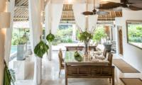 Dining Area - Villa Sungai Bali - Tabanan, Bali