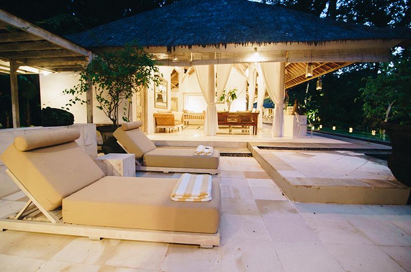 Sun Loungers - Villa Sungai Bali - Tabanan, Bali