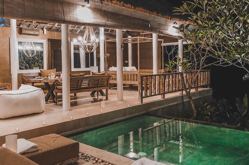 Pool Side - Villa Sungai Bali - Tabanan, Bali