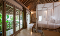 Bedroom with Garden View - Villa Sungai Bali - Tabanan, Bali