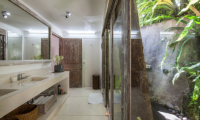 Bathroom with View - Villa Sungai Bali - Tabanan, Bali