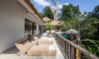 Sun Beds - Villa Sungai Bali - Tabanan, Bali