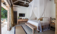 Bedroom and Balcony - Villa Sungai Bali - Tabanan, Bali
