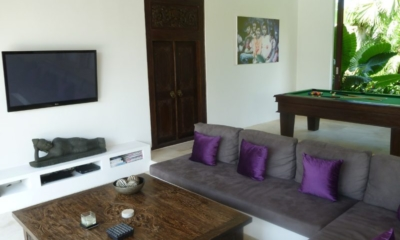 Lounge Area with TV - Villa Tempat Damai - Canggu, Bali