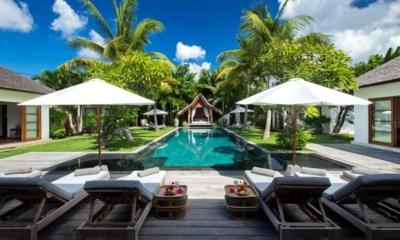 Pool Side Loungers - Villa Tiga Puluh - Seminyak, Bali