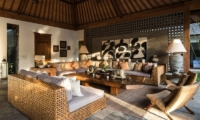 Indoor Living Area - Villa Tiga Puluh - Seminyak, Bali