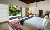 Bedroom with Pool View - Villa Tiga Puluh - Seminyak, Bali