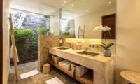 Bathroom with Mirror - Villa Tiga Puluh - Seminyak, Bali