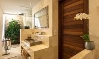 Bathroom with Shower - Villa Tiga Puluh - Seminyak, Bali