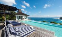 Sun Beds - Villa Seriska Seminyak - Seminyak, Bali