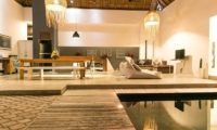 Pool Side Seating Area - Villa Turtle - Seminyak, Bali