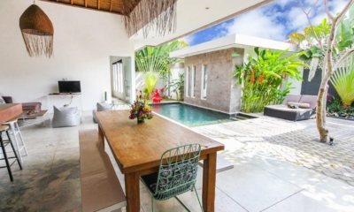 Dining Area with View - Villa Turtle - Seminyak, Bali