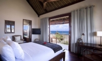 Bedroom with Sea View - Villa Waringin - Pererenan, Bali