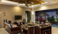 Living Area with TV - Villa Yang Seminyak - Seminyak, Bali