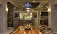 Dining Area with Bar Counter - Villa Yang Seminyak - Seminyak, Bali