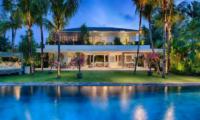 Pool at Night - Villa Zambala - Canggu, Bali