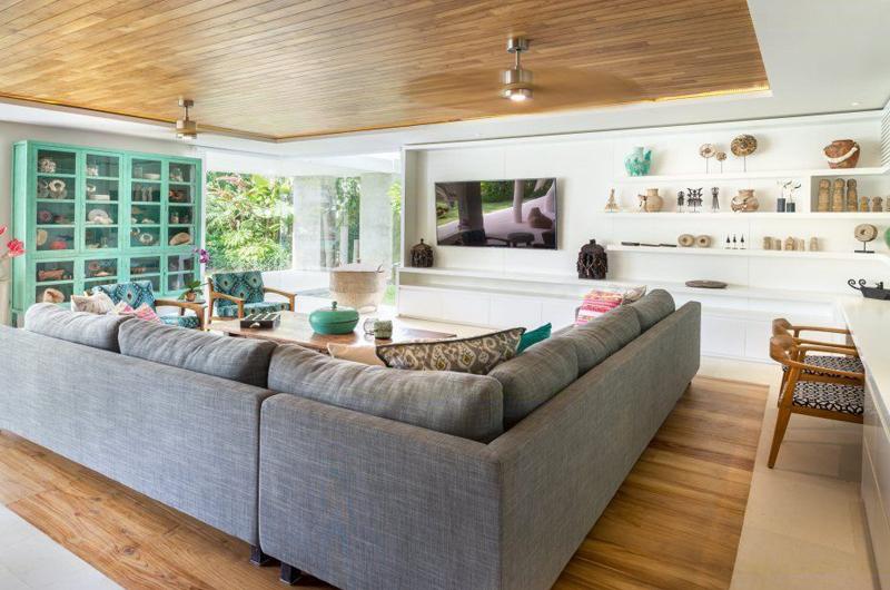 Lounge Area with TV - Villa Zambala - Canggu, Bali