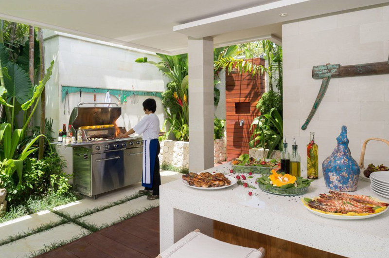 Outdoor Barbeque - Villa Zambala - Canggu, Bali