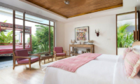 Bedroom with Seating Area - Villa Zambala - Canggu, Bali