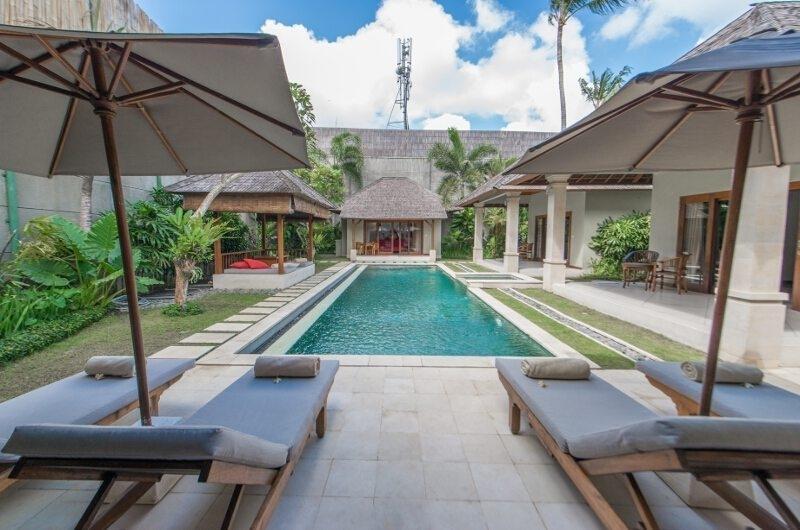 Pool Side Loungers - Villa Zanissa Villa Nissa - Seminyak, Bali