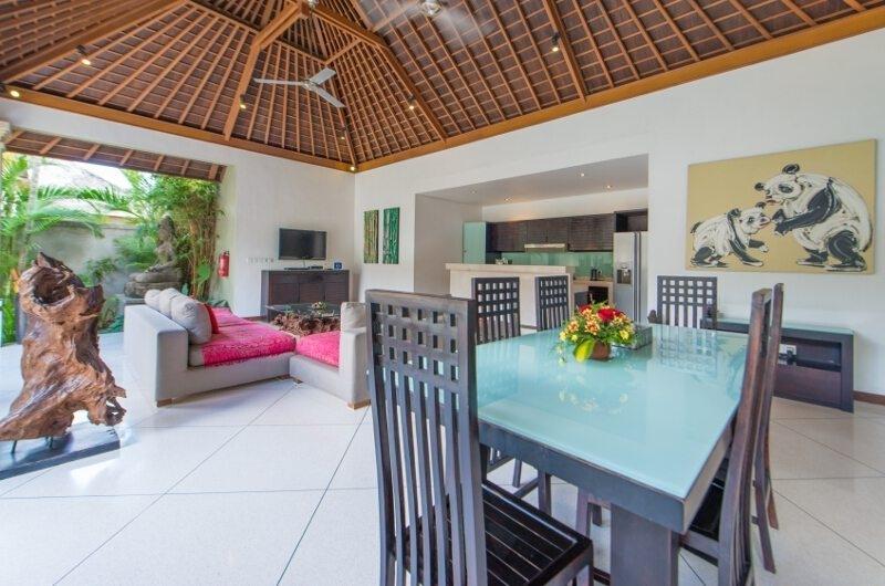 Living and Dining Area - Villa Zanissa Villa Nissa - Seminyak, Bali