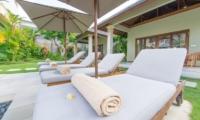 Reclining Sun Loungers - Villa Zanissa Villa Nissa - Seminyak, Bali