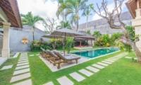 Gardens and Pool - Villa Zanissa Villa Zack - Seminyak, Bali