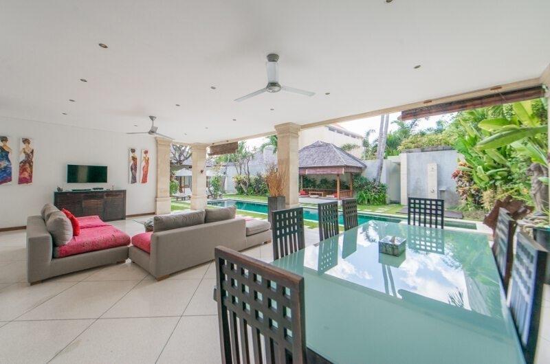 Living and Dining Area - Villa Zanissa Villa Zack - Seminyak, Bali