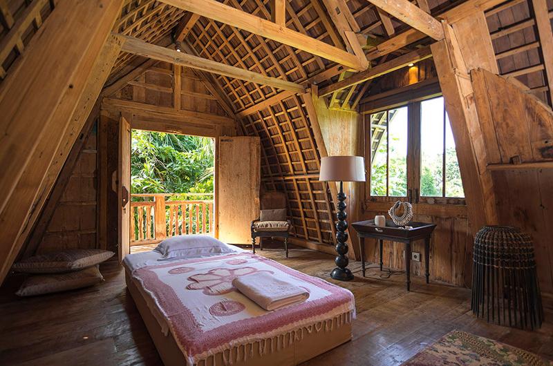 Bedroom with Single Bed - Villa Zelie - Canggu, Bali