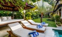 Reclining Sun Loungers - Vitari Villa - Seminyak, Bali