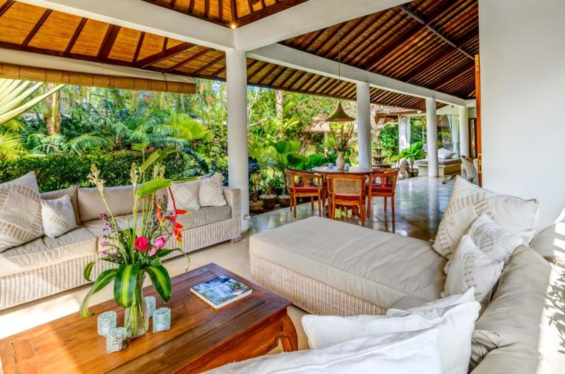 Living and Dining Area - Vitari Villa - Seminyak, Bali