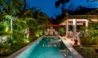 Pool at Night - Vitari Villa - Seminyak, Bali