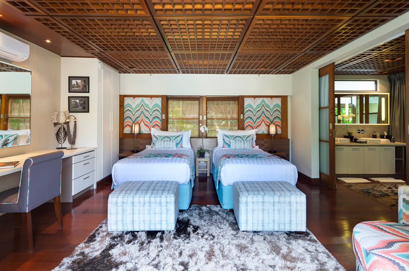 Twin Bedroom - Windu Villas - Villa Windu Sari - Seminyak, Bali