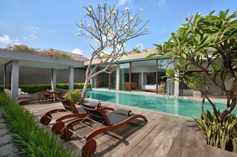 Pool Side Loungers - Ziva a Boutique - Seminyak, Bali
