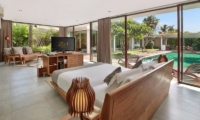 Bedroom with TV - Ziva a Boutique - Seminyak, Bali