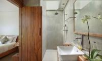 Bathroom with Shower - Ziva a Boutique - Seminyak, Bali