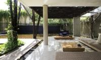 Lounge Area with TV - Ziva A Residence - Seminyak, Bali