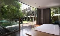 Bedroom with Pool View - Ziva A Residence - Seminyak, Bali